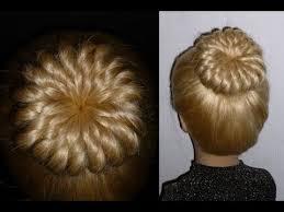 hairstyles using a bun donut pinwheel bun hairstyle with donut prom ballerina hairstyles