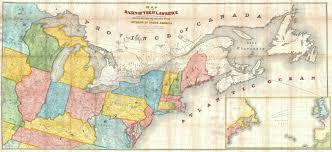 Ocean Lakes Map File 1853 Andrews Map Of The Great Lakes And St Lawrence Basin