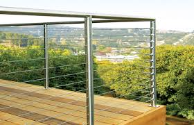 cable railing ideas u2013 cable deck railing and staircase design