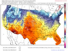 us weather map monday why do level ridges result in warm weather weather us
