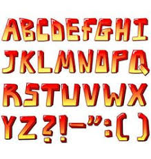 alphabets for kids printable with purple letters for use in