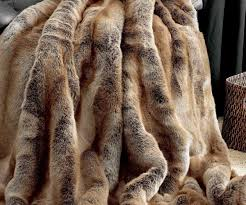 Faux Fur Comforter Queen Enchanting Coyote Limited Edition Faux Fur Throw Blankets Coyote