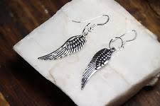 angel wing earrings sterling silver angel wing earrings ebay