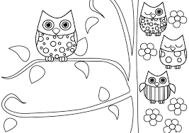 coloring page for adults owl free adult owl coloring pages to humorous draw paint general