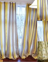Blue And Striped Curtains White And Blue Striped Curtains Designs Mellanie Design