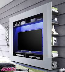 Wohnzimmerschrank Auf Rechnung Moderne Wohnwand Mediencenter Anbauwand