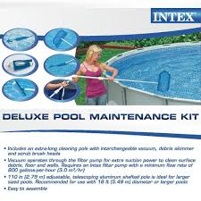 amazon com intex deluxe pool maintentance kit for above ground