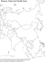 asia map coloring page best photos of printable map of asia asia map outline printable