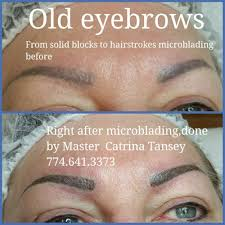 old solid eyebrows correction after somebody u0027s work microblading