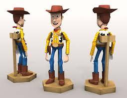 toy story papercraft sheriff woody