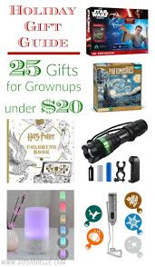 holiday gift guide 25 great gifts for grownups under 20 diy