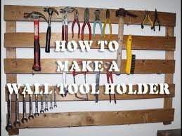 make a wall tool holder easy d i y