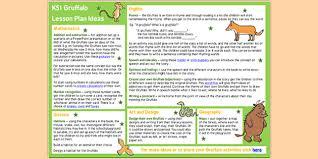 the gruffalo lesson plan ideas ks2 the gruffalo the gruffalo
