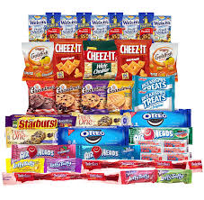 halloween care packages for college students amazon com snacks care package variety pack of 40 crackers