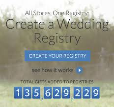 michael c fina bridal registry best wedding registry websites top10weddingsites top