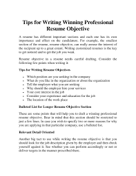 Best Things To Put On A Resume by Objectives To Put On A Resume Free Resume Example And Writing