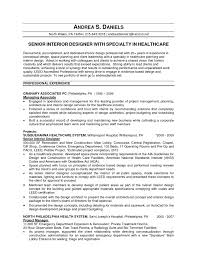 Sample Resume Of Interior Designer by Sample Resume Of Interior Designer Free Resume Example And