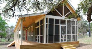modern cabin dwelling plans pricing kanga room systems cottage cabin dwelling 16x30 w screen porch kanga room systems