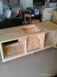 Table Saw Dust Collection by Table Saw Mobile Cart With Dust Collection And Drawers