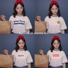 shirts top 2017 summer style fashion tees korean ulzzang harajuku