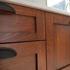 Stain Colors For Kitchen Cabinets by Staining Kitchen Cabinets At Home Kitchens Craftsman And House
