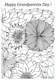 100 coloring pages for grandparents happy grandparents day