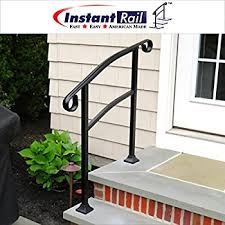 Steps With Handrails Diy Iron X Handrail Picket 3 Fits 3 Or 4 Steps Amazon Com