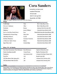 Sample Acting Resume No Experience by The 25 Best Acting Resume Template Ideas On Pinterest Resume