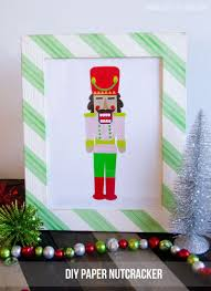 christmas crafts a diy paper nutcracker