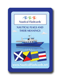 Semaphore Flag Amazon Com Nautical Flashcards Nautical Flags And Their Meanings