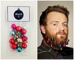 beard ornaments christmas beard ornaments beard baubles for charity