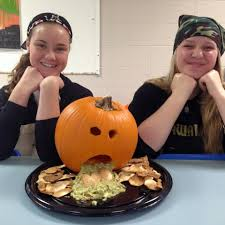 halloween garnishes personal chef services