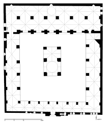 floor plan of great mosque of tripoli archnet