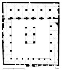 jami u0027 al mansuri al kabir floor plan of great mosque of tripoli