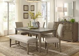 Unique Dining Room Sets by Dining Room Table With Bench And Chairs Provisionsdining Com