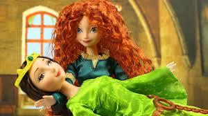 brave mini movie stars anna merida saves queen elinor 2