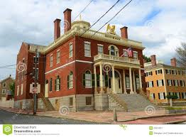 Custom House Salem Massachusetts Stock Photo Image 53674577
