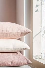 Pink Bedroom Cushions - soft linens u0026 chunky knits linens bedrooms and neutral tones