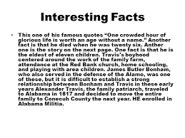 william b travis facts the best fact 2017