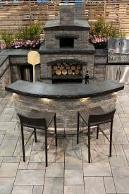 Kitchen With Bar Table - awesome outdoor kitchens with bars artisan crafted iron