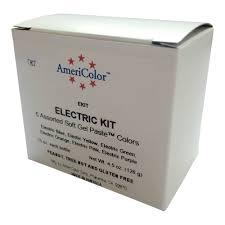 americolor electric food colour kit soft gel paste food colour