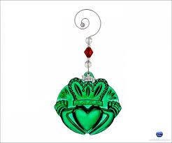 waterford 2014 claddagh ornament green
