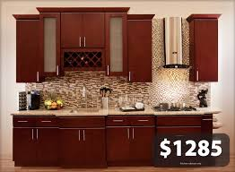 kitchen ideas cherry cabinets all solid wood kitchen cabinets villa cherry 10x10 rta white