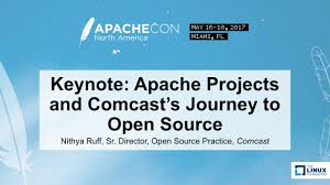 keynote apache projects and comcast u0027s journey to open source