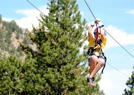Treetop Canopy Tours by Canopy Zip Idaho Springs Clear Creek Canopy Tour