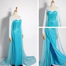 frozen elsa coronation dress costume cosplay for frozen