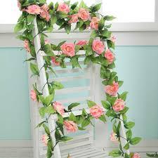 fake flowers for home decor 240cm artificial flowers home decoration wedding flower fake silk