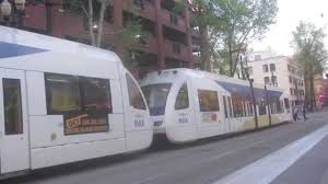 Portland Light Rail Map by Lightrail In Portland Oregon Youtube
