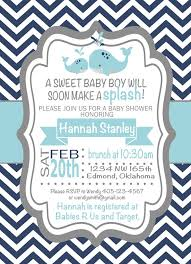 whale baby shower invitations shower invitations