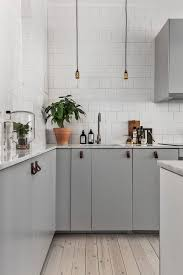 awesome white and grey kitchen taste